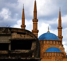 Downtown Beirut, Old and New by OlenJames
