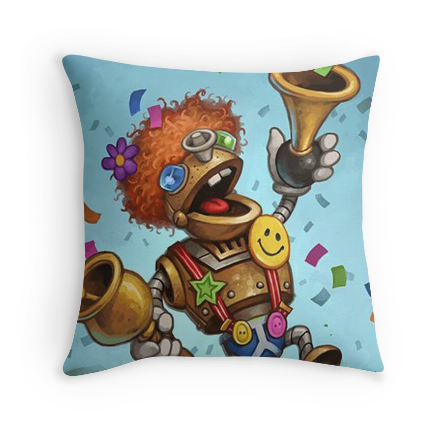 Hearthstone Throw Pillow : Hearthstone: Throw Pillows Redbubble