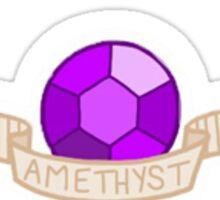 Steven Universe- Amethyst Gem Sticker Sticker