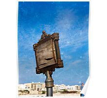 Old Sign Post in Ostranto Poster