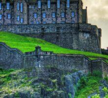 Edinburgh Castle Hospital Sticker