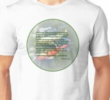 Genesis 1 20-23 And God said, Let the waters bring forth abundantly Unisex T-Shirt