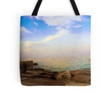 On the Waterfront in Otranto #1 Tote Bag