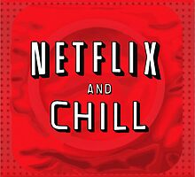 Netflix and chill - condom by CrowTeam