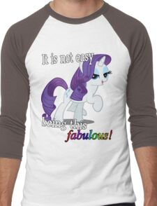 Rarity is fabulous Men's Baseball ¾ T-Shirt