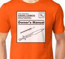 Riptide Owner's Manual (Percy Jackson) Unisex T-Shirt