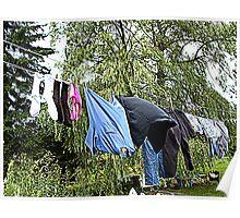 Dave's Washing Poster