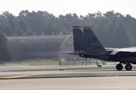 Eagle Jet Blast by Richard Durrant