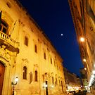 An evening passagiata in Lecce by Rebecca Dru