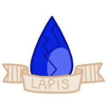 Steven Universe- Lapis Lazuli Gem Sticker by sbear4000