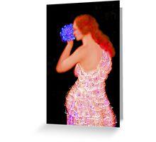 'Beautiful' Motherhood Electric, Greeting Card or Small Print Greeting Card