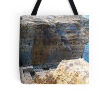 <3 Etched in Stone Tote Bag