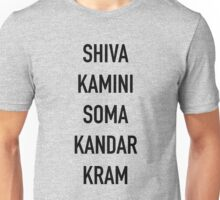 Shivakamini Somakandarkram – The League, Taco, Shiva Blast Unisex T-Shirt