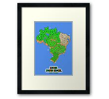 Super Mario Brazil (Print Version) Framed Print