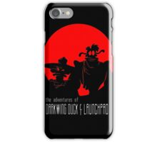 The Adventures of Darkwing Duck & Launchpad iPhone Case/Skin