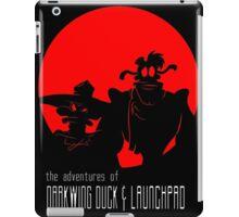 The Adventures of Darkwing Duck & Launchpad iPad Case/Skin