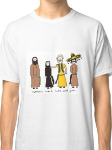 Matthew, Mark, Luke, and Juan Classic T-Shirt