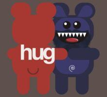 BEARD BEAR HUG 2 by peter chebatte