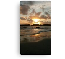 St Ninian's Waves Canvas Print