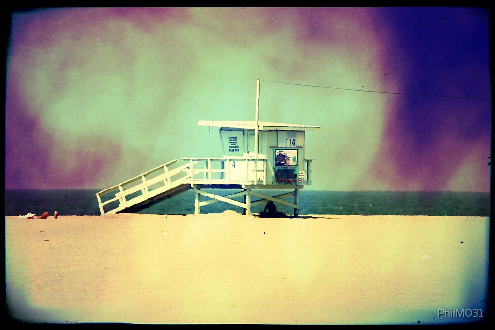 Lifeguard Hut by PhilM031