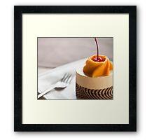 Delicious dessert Framed Print