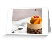 Delicious dessert Greeting Card