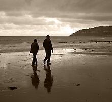 Sandown seafront by Zamzara
