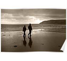 Sandown seafront Poster