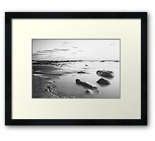 Moonscape, Compton Bay Framed Print