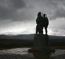 The Commando Memorial Spean Bridge by albyw
