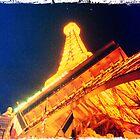 Eiffel Tower in Vegas by PhilM031