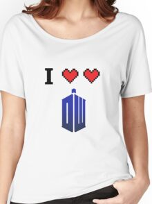 I love love Doctor Who Women's Relaxed Fit T-Shirt