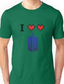 I love love Doctor Who Unisex T-Shirt