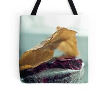 Frozen Withered Rose Tote Bag