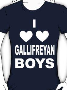 I Love Love Gallifreyan Boys T-Shirt