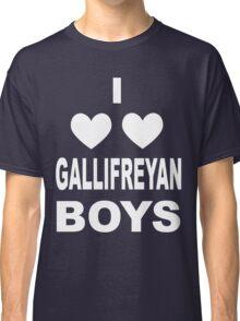 I Love Love Gallifreyan Boys Classic T-Shirt