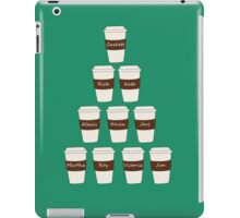 Castle coffee iPad Case/Skin