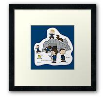 Peanut Games Framed Print