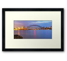 Light Doesn't Sleep Framed Print