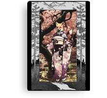 Kitsune Portrait  Canvas Print