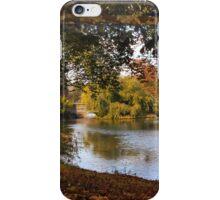 Autumn at Woodlawn iPhone Case/Skin