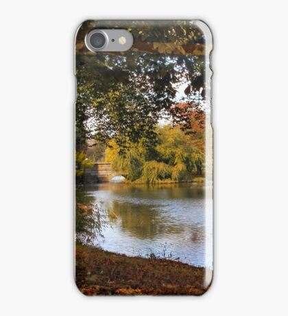 Autumn at Woodlawn iPhone Case/Skin