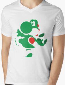 Yoshi - N64 Smash Bros Mens V-Neck T-Shirt