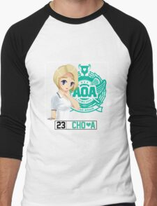 AOA Choa (Heart Attack) Men's Baseball ¾ T-Shirt