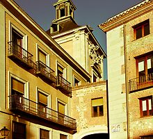 Calle Del Rollo, Madrid by Mark Podger