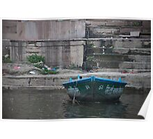 Single Boat Poster