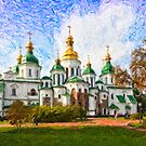 St Sofia&#x27;s Cathedral, Kiev by Graham Prentice