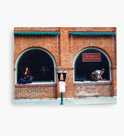Folklife Windows Canvas Print