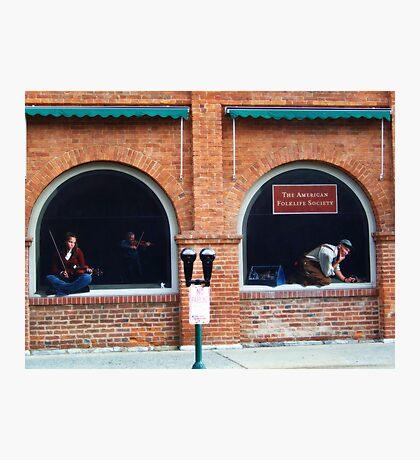 Folklife Windows Photographic Print