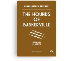 BBC Sherlock - The Hounds of Baskerville Minimalist Canvas Print